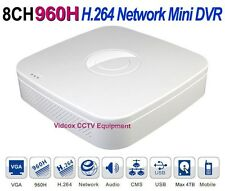 8Ch FULL 960H H.264 Real-time CCTV Security DVR Network iPhone Android Phone P2P