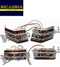 8992 - FRECCE COMPLETE CON GRIGLIA ROSSE VESPA 125 150 200 PX - ARCOBALENO