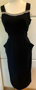 1950's Vintage Little Black Dress