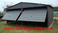 5X5 Blechgarage Fertiggarage Metallgarage LAGERRAUM GERÄTESCHUPPEN garage