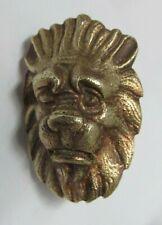 tête de lion en bronze  (Ref P056) )