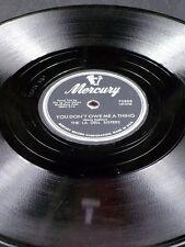 Mercury 70888 La Del Sisters YOU DON'T OWE ME A THING / ROCKIN' ROBERT 78 V+