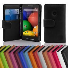 Custodia Cover per Motorola MOTO E (1.Gen.) Libri Case con slot per schede