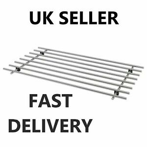 Large Stainless Steel Kitchen Trivet Worktop Saver Pot Pan Stand Rack 50x28cm