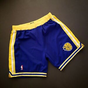 100% Authentic Mitchell & Ness 95 96 Warriors Shorts Size 2XL Mens curry