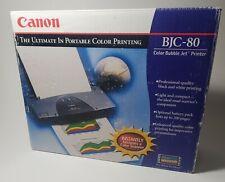 Canon BJC-80 Color Bubble Inkjet Printer  OPEN BOX