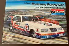 Monogram 7- Eleven Mustang Funny Car #2710 - open box New