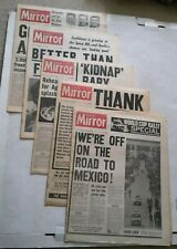 More details for 5 x daily mirror newspapers - 15 / 16 / 17 / 18 / 20 april 1970 - apollo 13 etc