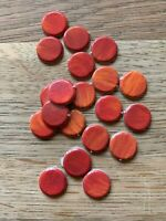 Dungeons & Dragons 2003 Board Game Spares - X20 Damage Hit Counters Replacement