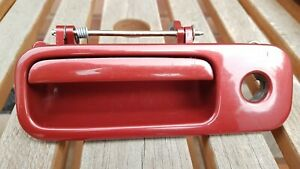 VW Golf Mk4 (98-04) Tailgate Boot Lock Handle 1J6827565A Canyon Red LC3K