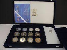 Royal Mint 2000 Reina Mother Centenario De Plata Prueba Moneda Colección $10 5