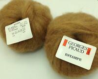 10 pelotes de laine kid mohair 69 %  mohair   hyper doux / fabriqué en FRANCE