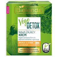 Bielenda Vege Detox Moisturising Cream with Broccoli  Pumpkin & Prebiotic 50ml