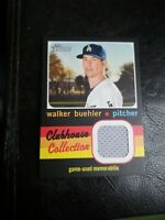 2020 Topps Heritage High Number Walker Buehler Clubhouse Collection GU Jersey