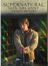 Supernatural Seasons 1-3 Winchester Brothers Gold Parallel J3 Family Matters