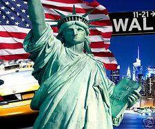 tapis de souris usa amérique drapeau united states new york réf 06