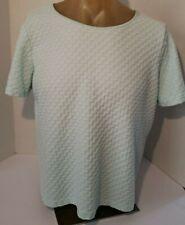 Sag Harbor Women's Top, size 1X,  light blue   cotton polyester blend