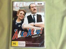 """""""Allo """"Allo  :- Series 6  (DVD, 2007), NEW SEALED REGION 4 - COMEDY-   2 x DVDs"""