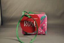 Lush Rose Clay Salt Cube 3.6oz Calming Rose Fizz Great For Sore Muscles ~ VEGAN