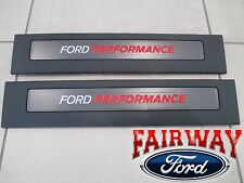 15 thru 18 F-150 OEM Ford Performance  RAPTOR Door Sill Plate Set CREW CAB ONLY