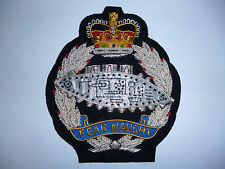 ROYAL TANK REGIMENT QUEENS CROWN POST 1952 STYLE