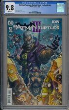 BATMAN/TEENAGE MUTANT NINJA TURTLES III #4 - CGC 9.8 - 1626946002