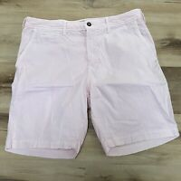 American Eagle Extreme Flex Men's Classic Chino Pink Shorts Size 36