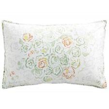 Barbara Barry Queen Pillow Sham, Alpen Blue Gray White, Pair, New x 2