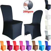 1/4/6/10PCS Dining Chair Covers Spandex Slip Cover Stretch Wedding Banquet Party