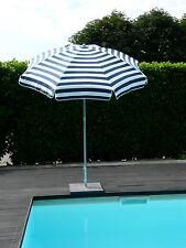 Maffei ombrellone palo centrale Mare bianco/blu dralon d.200 cm made in Italy