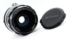 NIKON NIKKOR-N-C 28mm f2.0 - 1974 - EXCELLENT! **VERY RARE AI CONVERSION!**