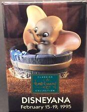 Dumbo in Tub Disney Button Disneyana Classics 1995 Edition Vintage Collectible