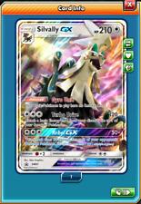 Pokemon TCG ONLINE Shiny Silvally GX SM91 (DIGITAL CARD) Black Star Promo SKU136