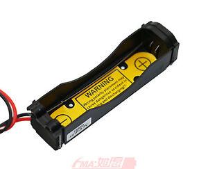 4Pcs Protected Battery Holder Case for Li-ion 3.6V 3.7V 18650 17670 Cell 1S1P