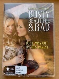 Busty Beautiful & Bad R18+ Leah Riley Gianna Lynn (DVD 2008) R4 Brand New