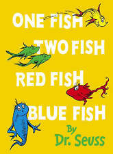 One Fish, Two Fish, Red Fish, Blue Fish: Mini Edition (Dr Seuss Mini Edition)vgc