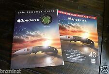 2016 Spyderco Product Guide + 2016 Retail Price Guide