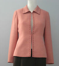 MILCO Size 36 Pink Fully Lined Blazer