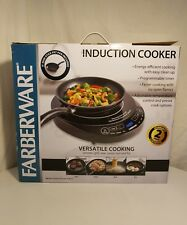 """Farberware Induction Cooker and 9"""" Non Stick Fry Pan Sear Saute Boil Fry UNUSED"""