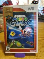 Super Mario Galaxy Nintendo Wii  Case and manual ONLY (no game)