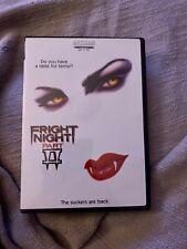 Fright Night part 2 DVD Pristine Condition!