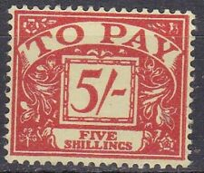Great Britain Postage Due 1961 SG D66**