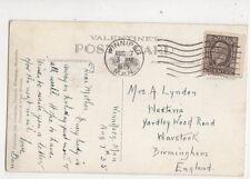 Frau ein Lyndon Westeria Yardley Holz Road warstock Birmingham 1935 608b