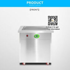 in usa, 20*20 inch pan Thai fried ice cream machine with temperature control