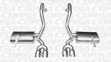 Corsa Axle-Back Dual Rear Exit Twin Tips for 97-04 Chevy Corvette 5.7L