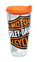 Tervis  Harley-Davidson  24 oz. Colossal Logo  Tumbler  Clear