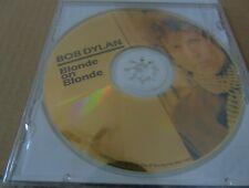 BOB DYLAN BLONDE ON BLONDE 1992 CD 24 KARAT GOLD COLLECTOR'S EDITION SEALED
