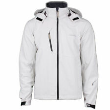 Craft Herren Gate Softshell Jacke Outdoor Funktionsjacke Kapuze Gr.XL ash white