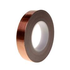 50m Kupferband 2.5cm selbstklebend Kupfer Foile Abschirmband Kupferblech
