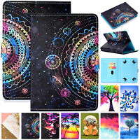 "For 7"" 8"" 10.1 inch Tablet Universal Folio PU Leather Case Stand Magnetic Cover"